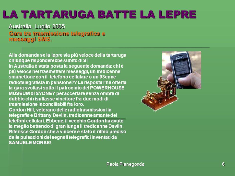 LA TARTARUGA BATTE LA LEPRE