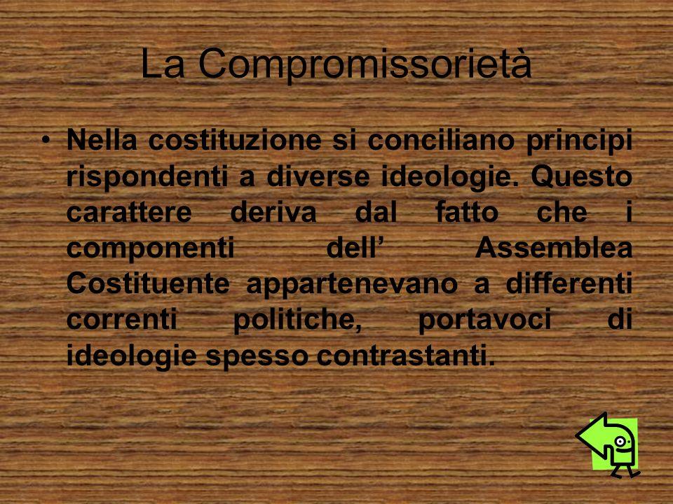 La Compromissorietà