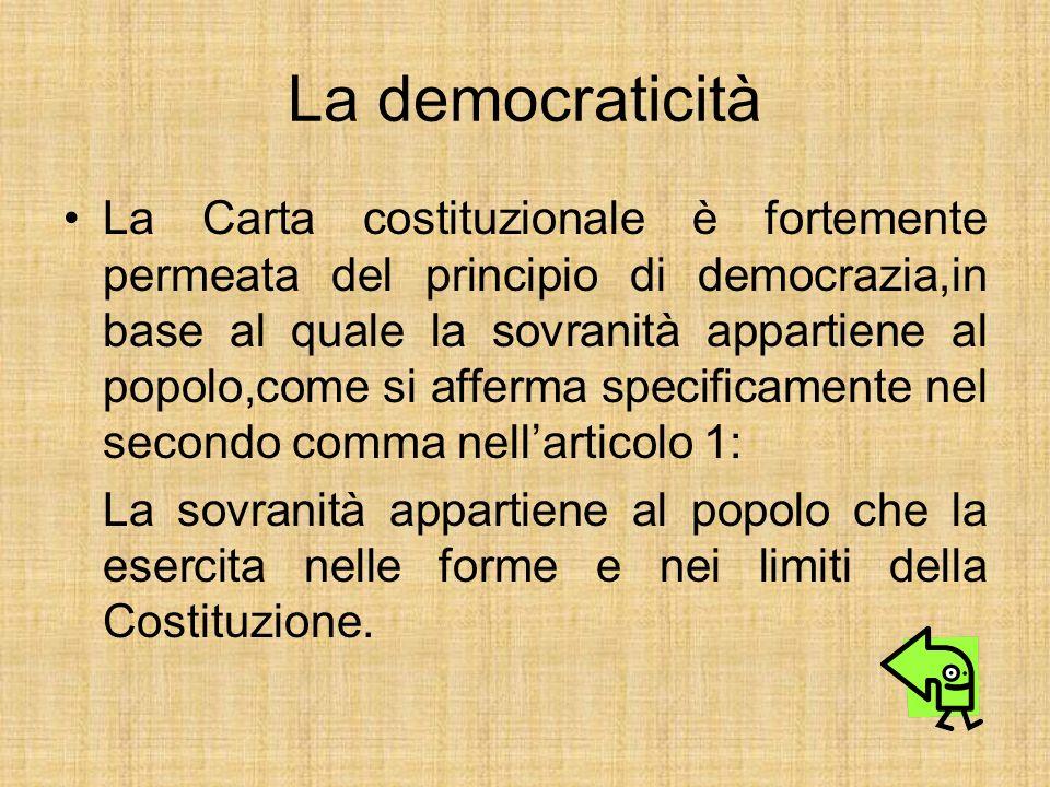 La democraticità