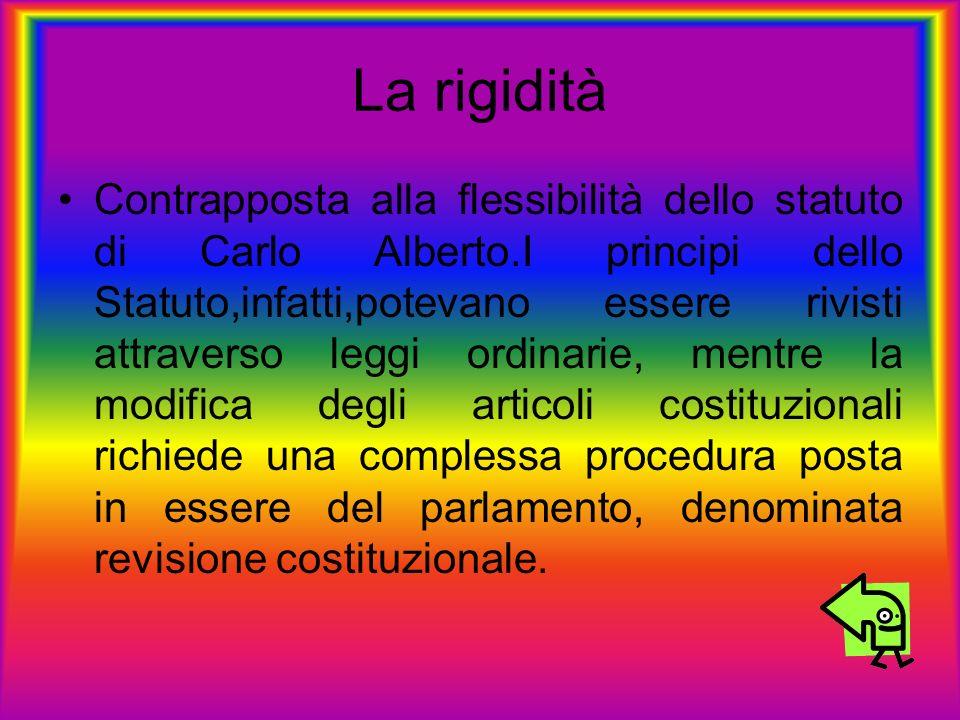 La rigidità