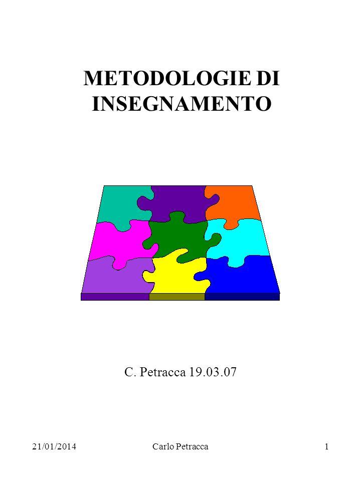 METODOLOGIE DI INSEGNAMENTO