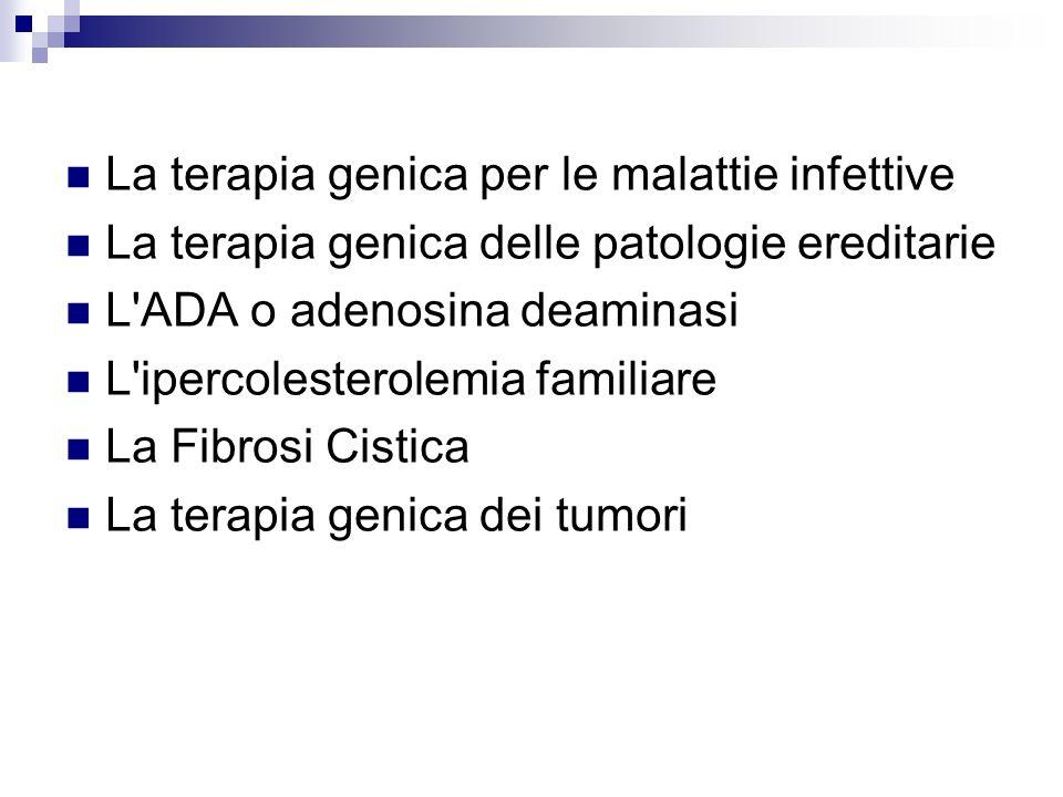 La terapia genica per le malattie infettive