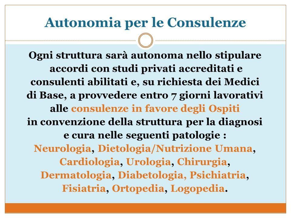 Autonomia per le Consulenze
