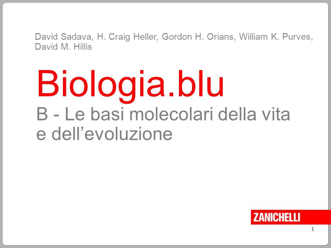 Biologia.blu B - Le basi molecolari della vita e dell'evoluzione