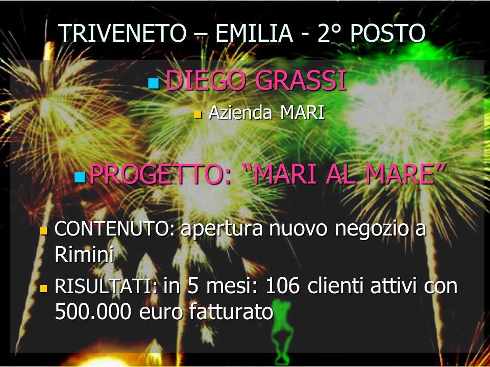 TRIVENETO – EMILIA - 2° POSTO