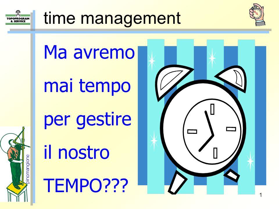 Ma avremo mai tempo per gestire il nostro TEMPO time management