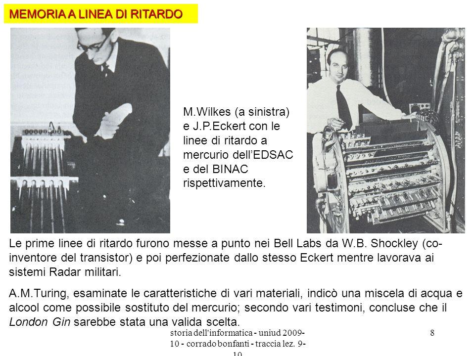 MEMORIA A LINEA DI RITARDO
