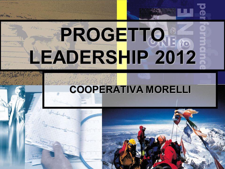 PROGETTO LEADERSHIP 2012 COOPERATIVA MORELLI