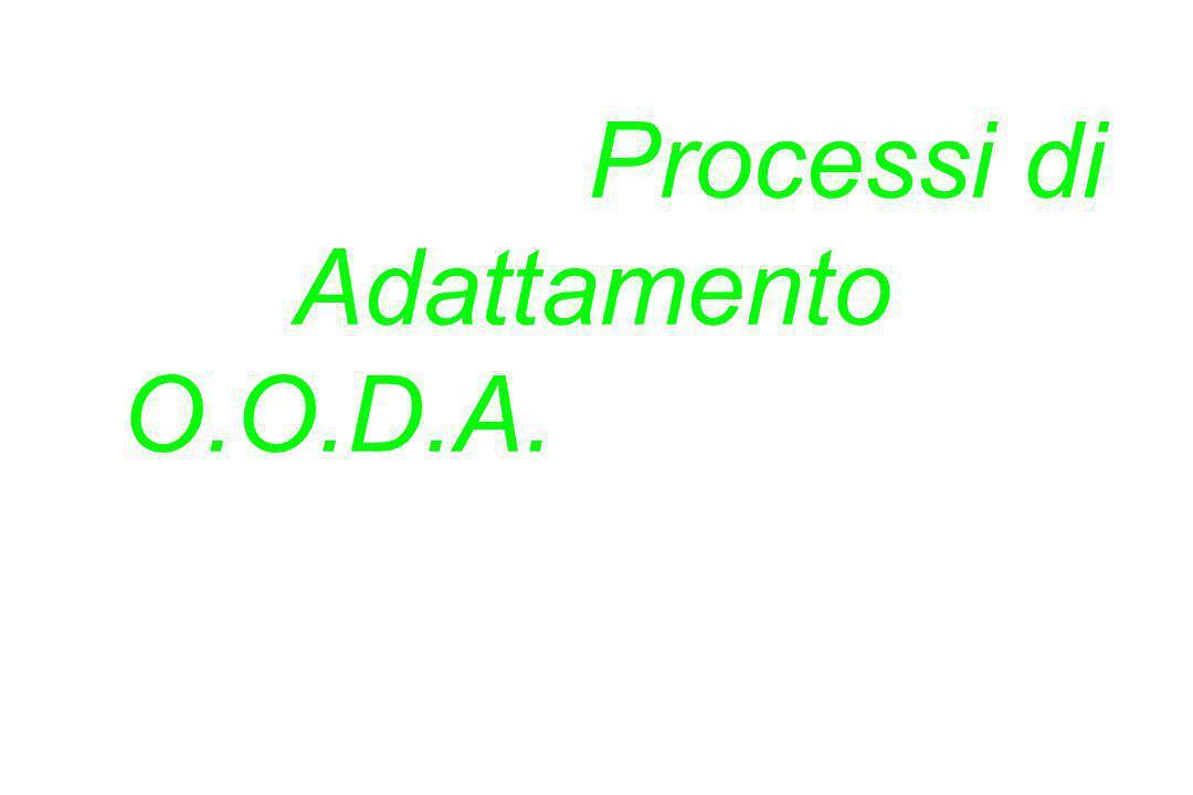 La persona che possiede i Processi di Adattamento O. O. D. A
