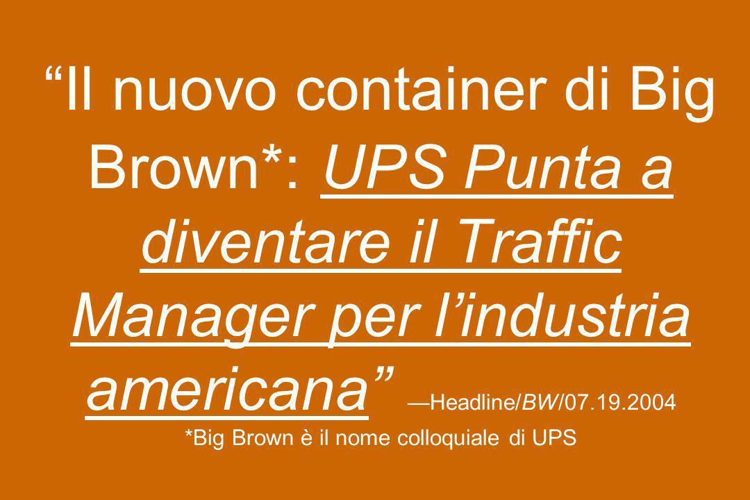 Il nuovo container di Big Brown