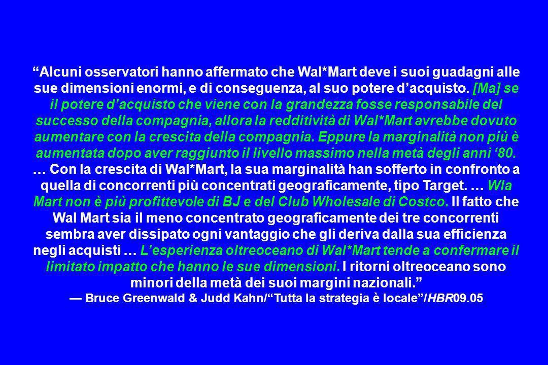 — Bruce Greenwald & Judd Kahn/ Tutta la strategia è locale /HBR09.05