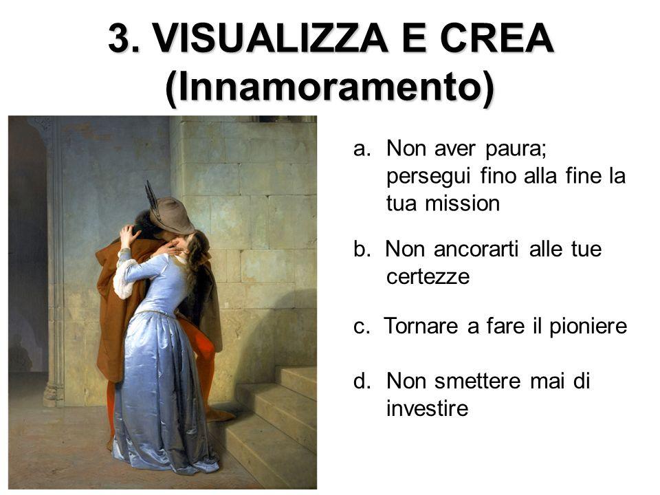 3. VISUALIZZA E CREA (Innamoramento)