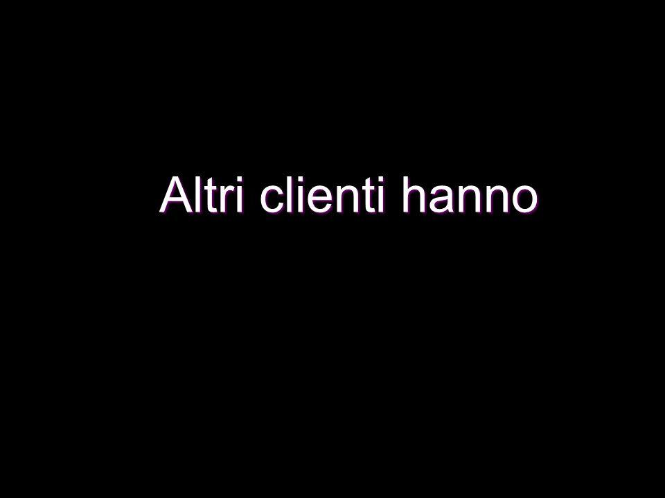 Altri clienti hanno