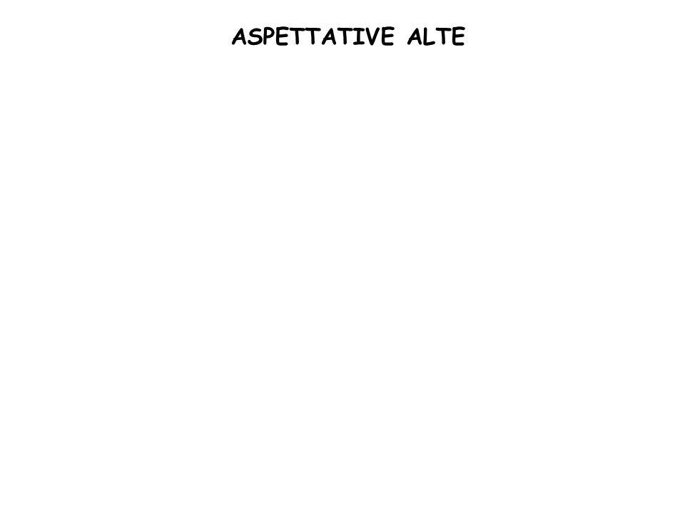 ASPETTATIVE ALTE