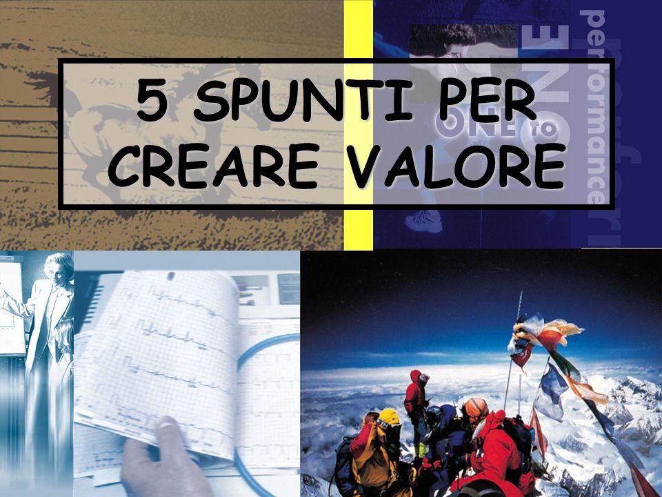 5 SPUNTI PER CREARE VALORE