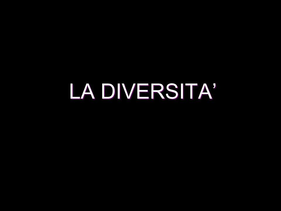 LA DIVERSITA'
