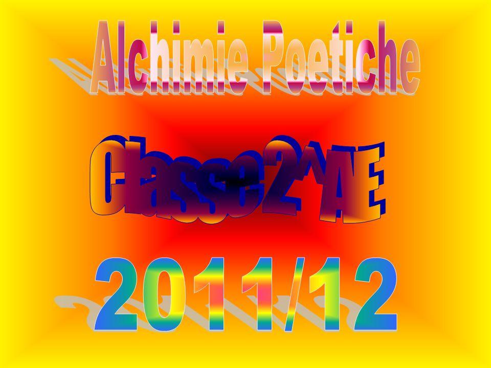 Alchimie Poetiche Classe 2^AE 2011/12