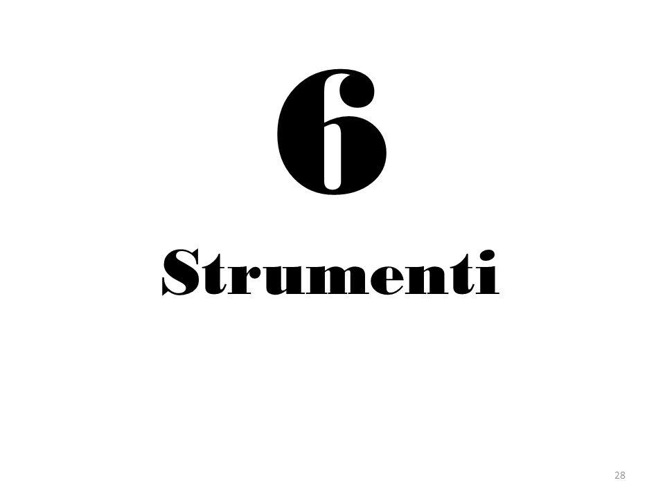 6 Strumenti