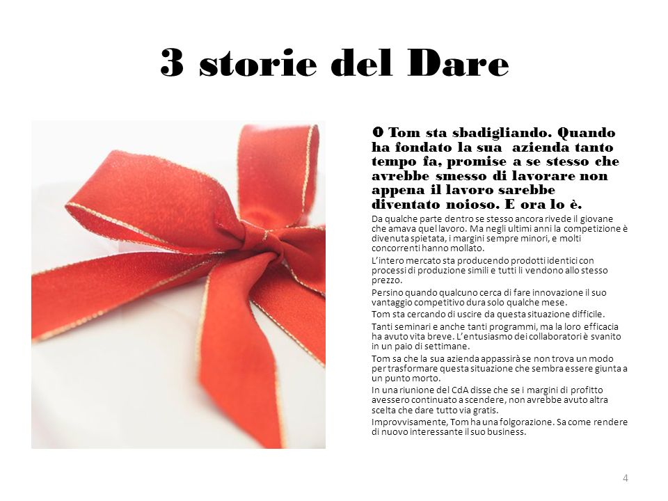 3 storie del Dare