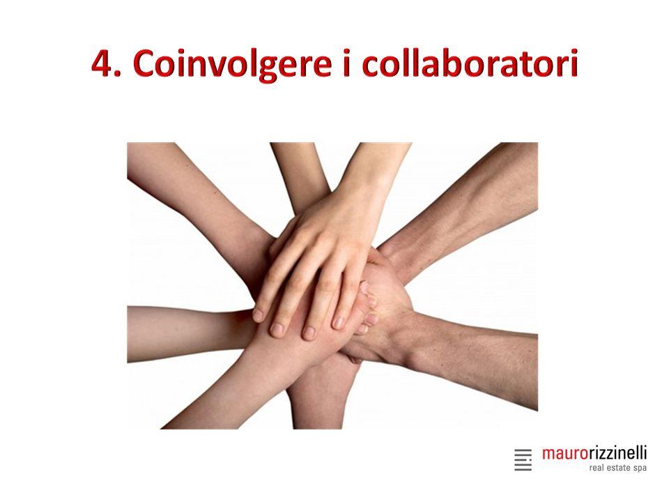 4. Coinvolgere i collaboratori