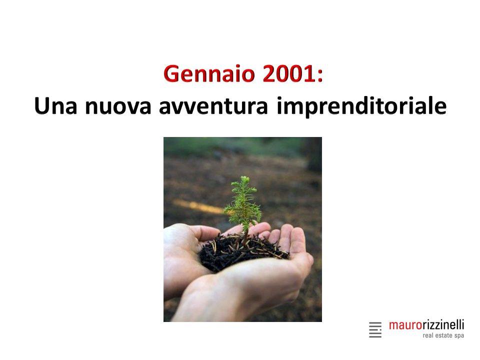 Gennaio 2001: Una nuova avventura imprenditoriale