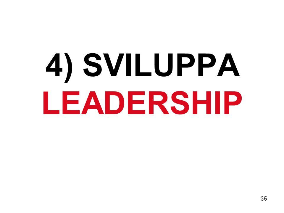 4) SVILUPPA LEADERSHIP
