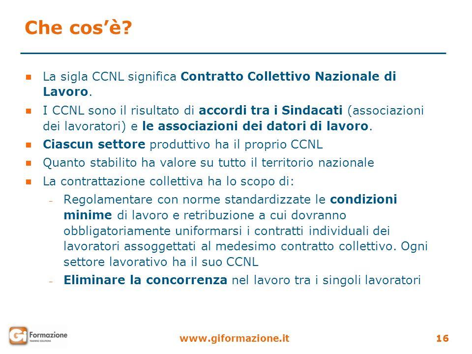 Che cos'è La sigla CCNL significa Contratto Collettivo Nazionale di Lavoro.