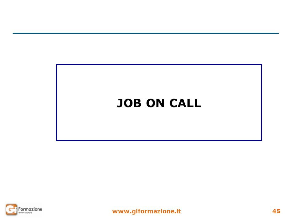 JOB ON CALL