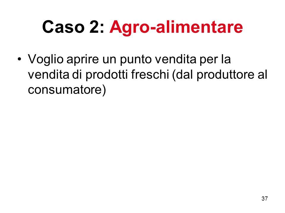 Caso 2: Agro-alimentare