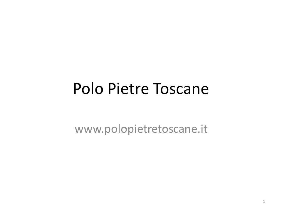 Polo Pietre Toscane www.polopietretoscane.it
