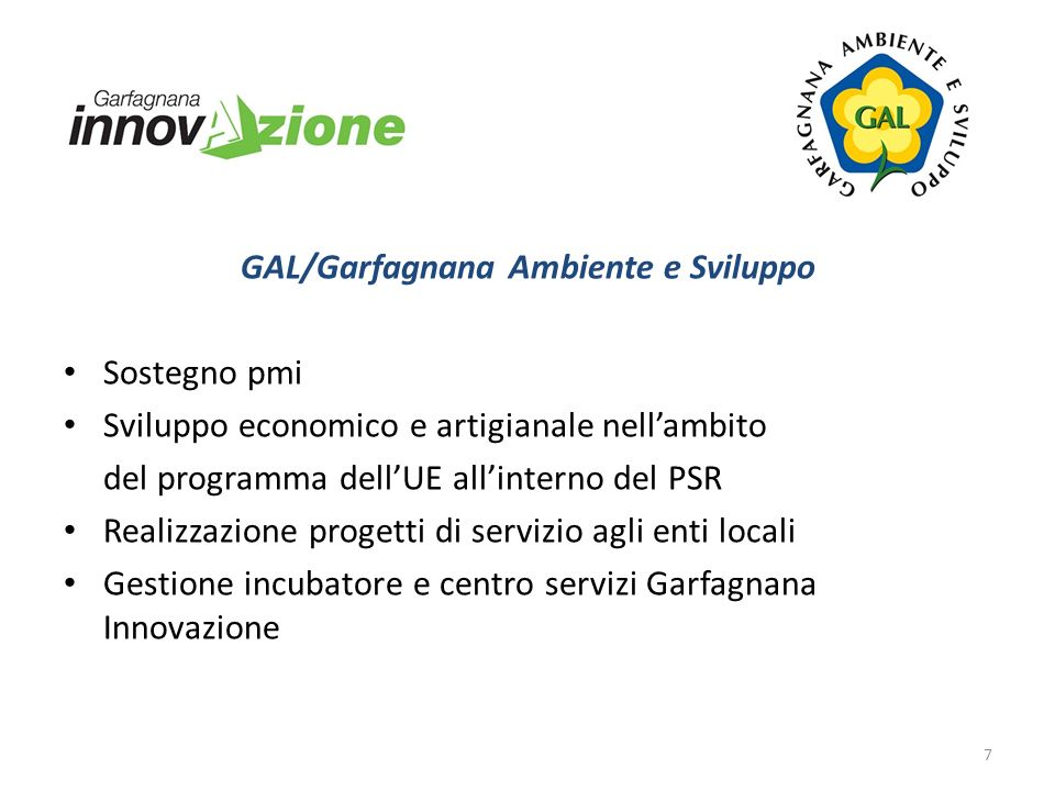 GAL/Garfagnana Ambiente e Sviluppo