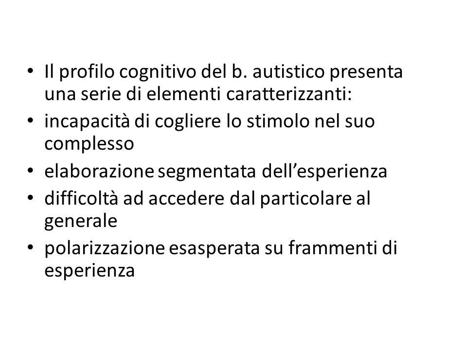 Il profilo cognitivo del b