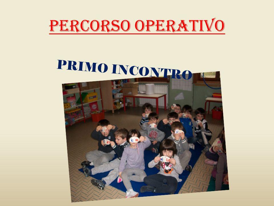 PERCORSO OPERATIVO PRIMO INCONTRO
