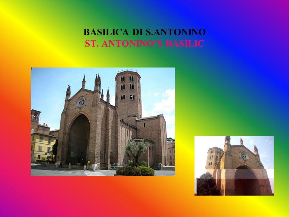 BASILICA DI S.ANTONINO ST. ANTONINO'S BASILIC
