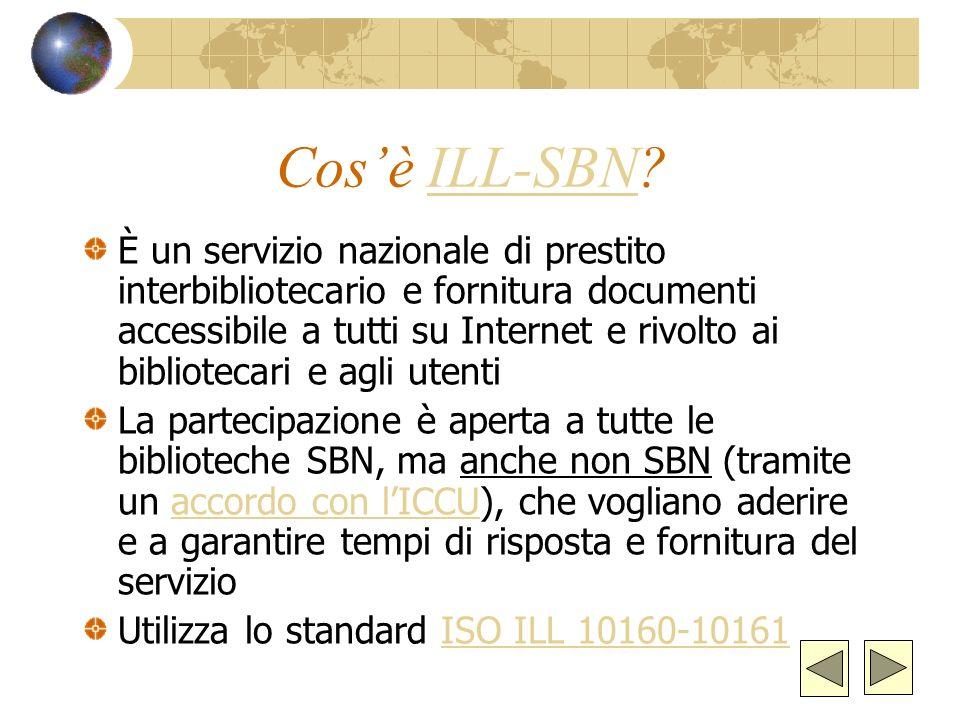 Cos'è ILL-SBN