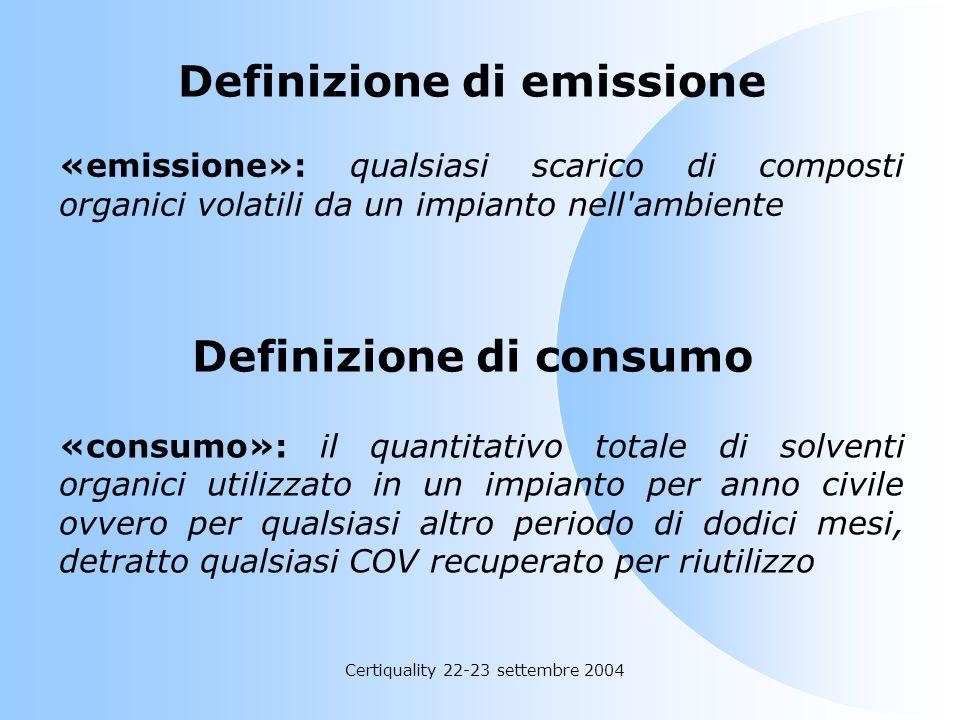 Definizione di emissione