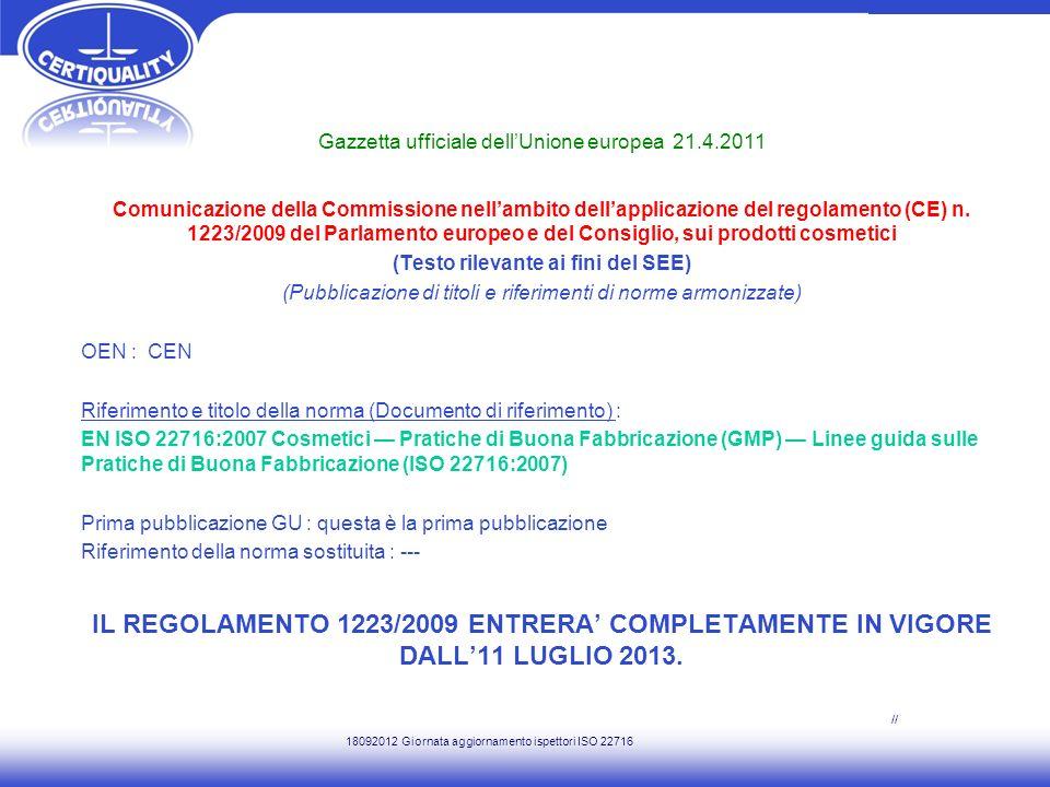 Gazzetta ufficiale dell'Unione europea 21.4.2011