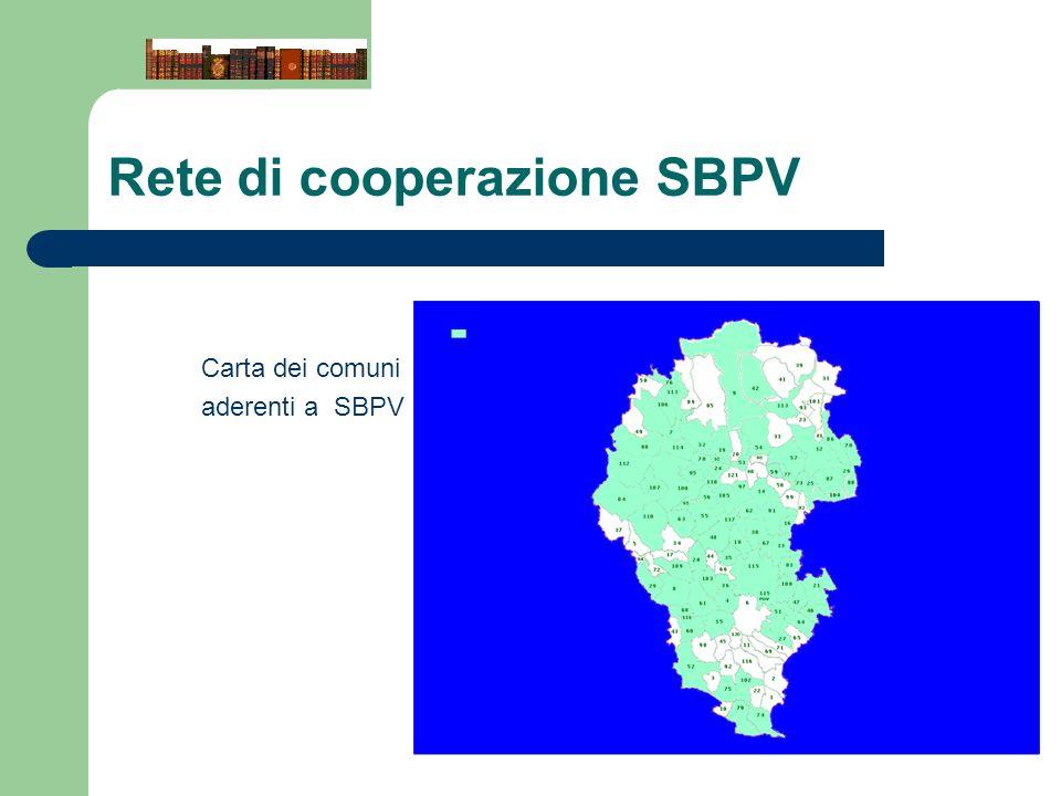 Rete di cooperazione SBPV