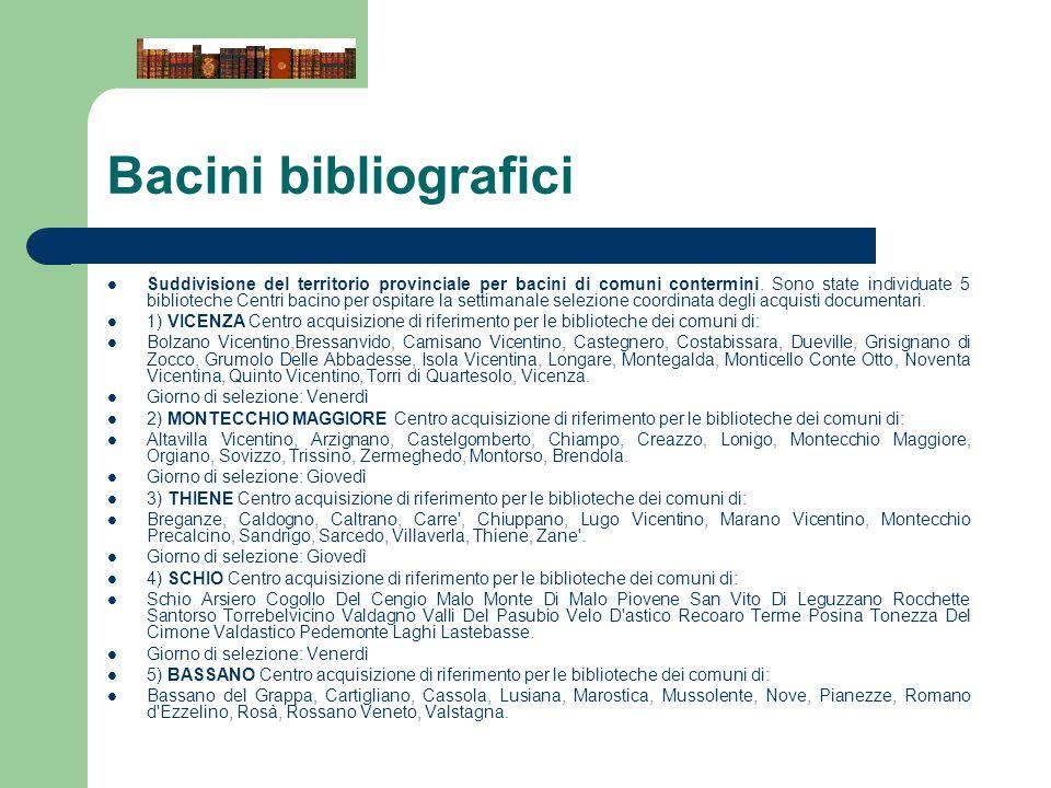 Bacini bibliografici