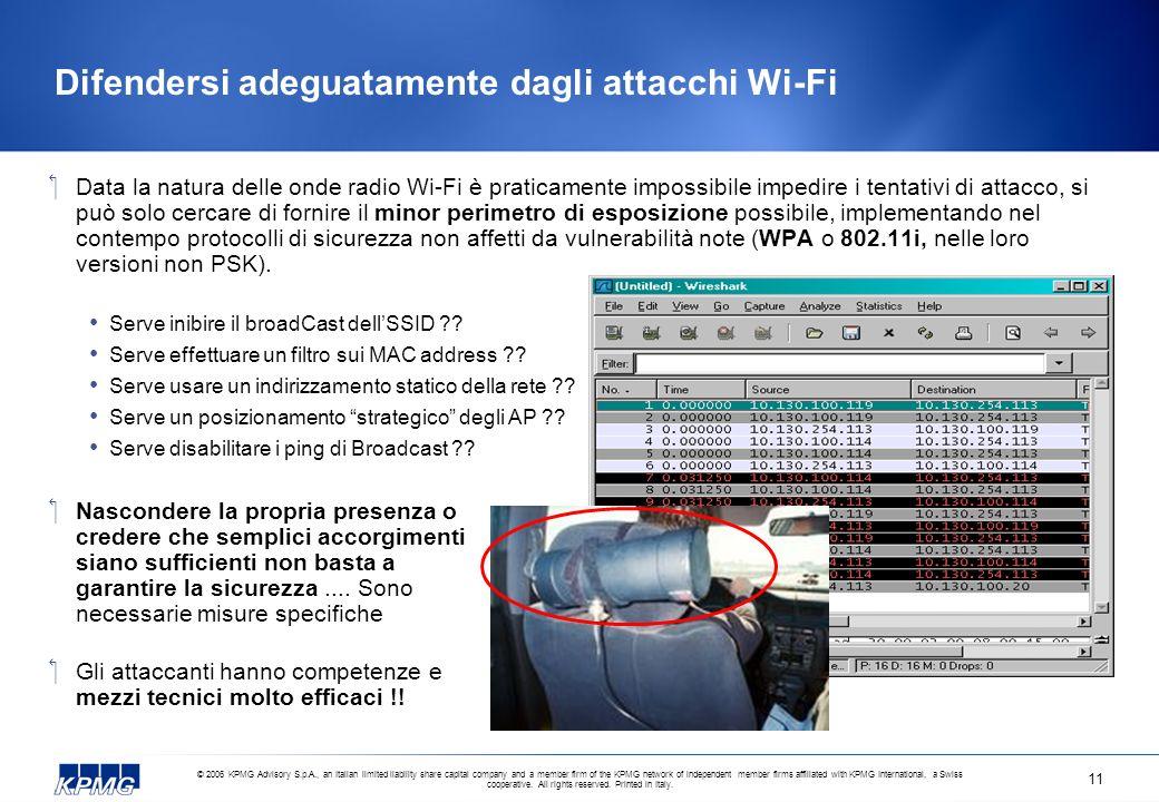 Difendersi adeguatamente dagli attacchi Wi-Fi
