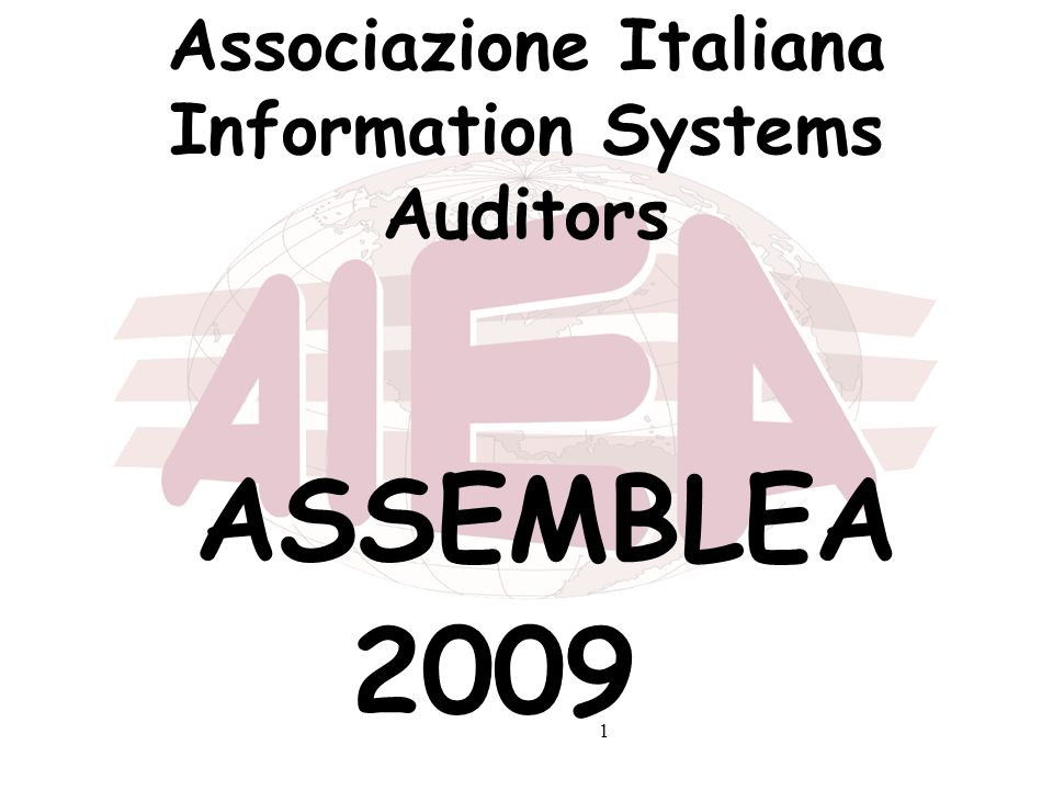 Associazione Italiana Information Systems Auditors