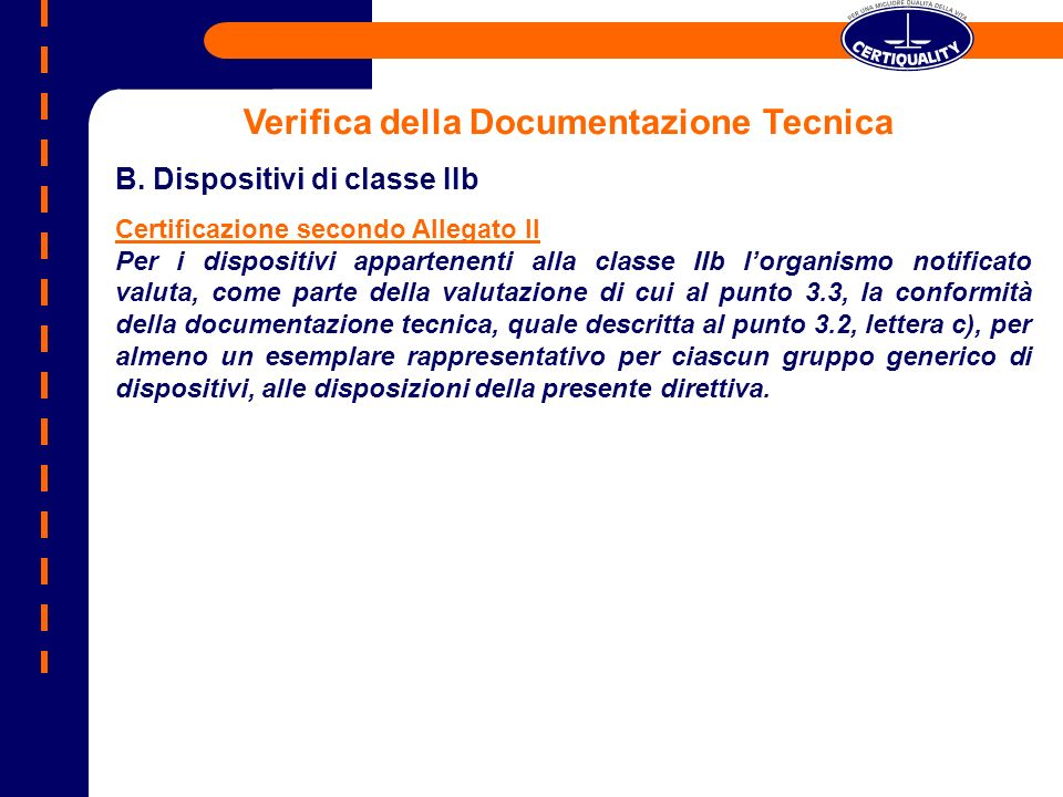 Verifica della Documentazione Tecnica