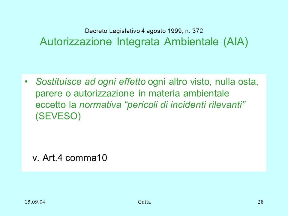 Decreto Legislativo 4 agosto 1999, n