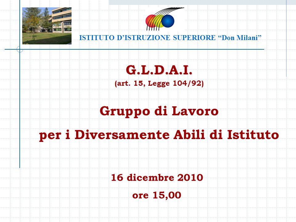 ISTITUTO D'ISTRUZIONE SUPERIORE Don Milani