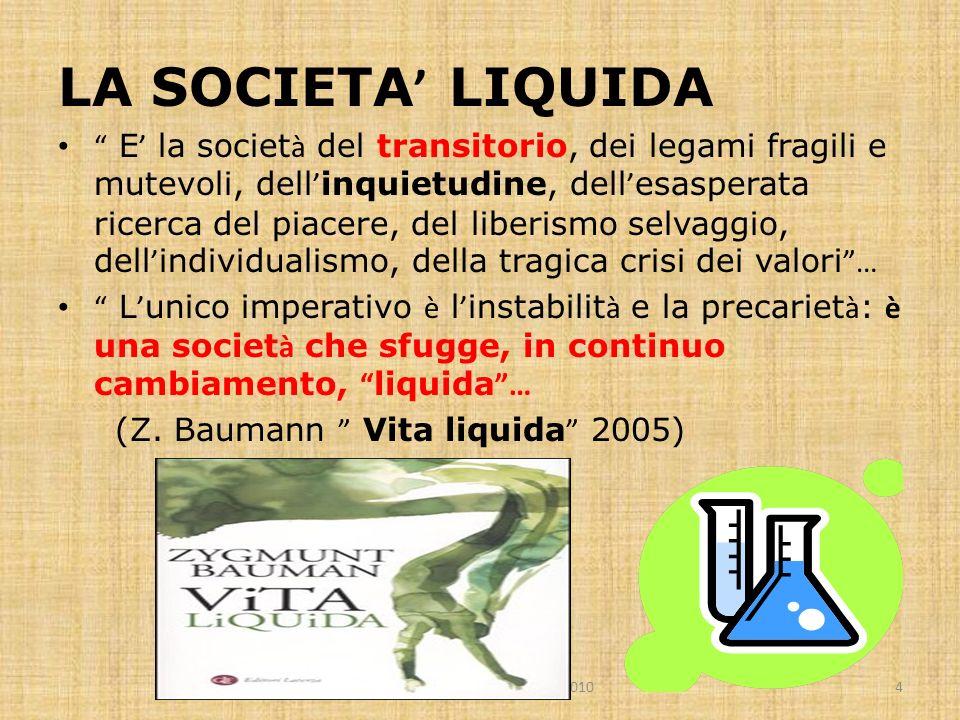 LA SOCIETA' LIQUIDA