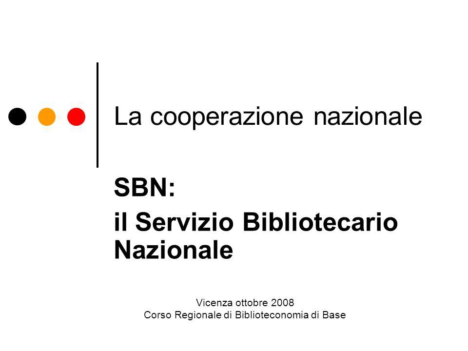 La cooperazione nazionale