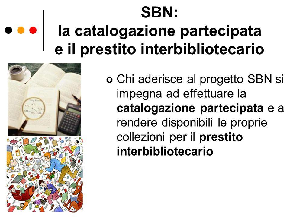 SBN: la catalogazione partecipata e il prestito interbibliotecario