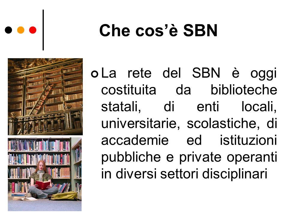 Che cos'è SBN