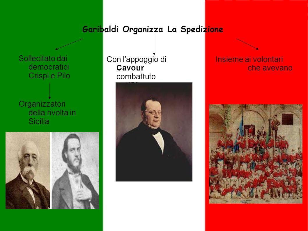 Garibaldi Organizza La Spedizione