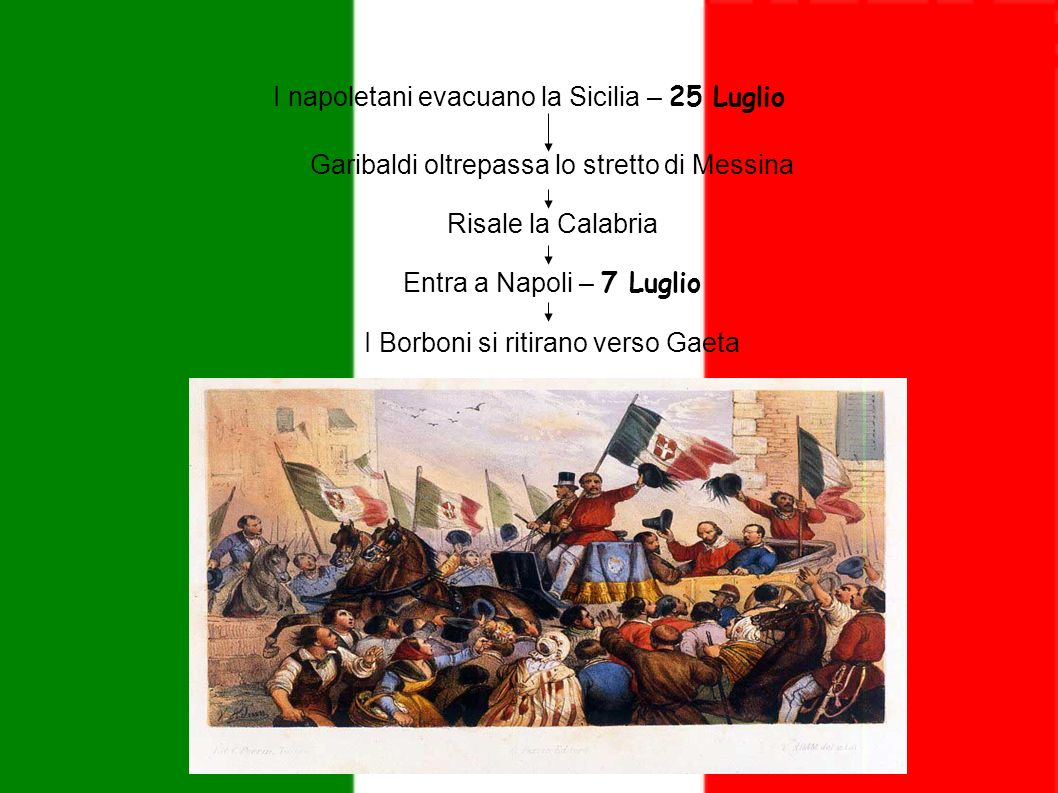 I napoletani evacuano la Sicilia – 25 Luglio